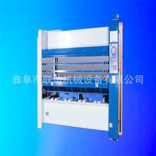 厂家多层热压机木工机械热压机 门板贴木皮热青岛导油加热设备