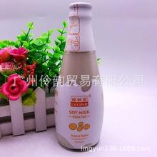 批发 进口饮品 泰国 绿林贝原味豆奶300?#36797;?24瓶一箱