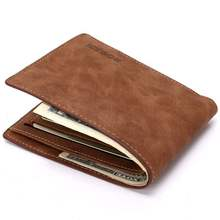 men new wallet ID Card Holder Coin Purse 短款钱包男