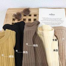 子川倉古木2019冬季新款純色毛衣內搭女韓版寬松套頭針織上衣701