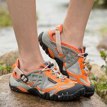 外贸2018夏季新款女士溯溪鞋男士户外登山徒步鞋防滑钓鱼涉水鞋子