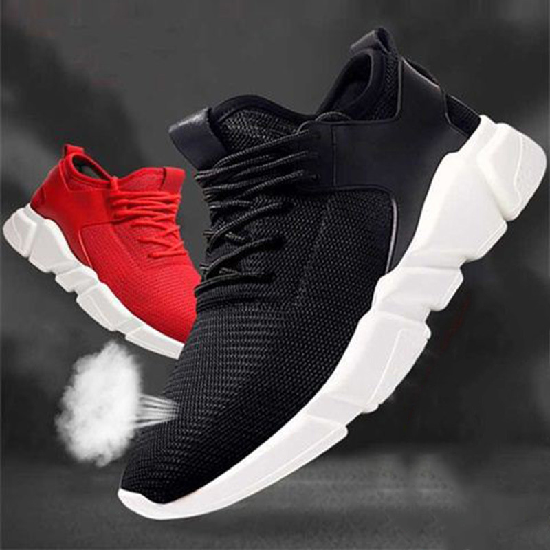 Men's And Women's Lovers Shoes Casual Breathable Mesh Running Shoes Foreign Trade Cross-country Men's Shoes Sports Wind Single Shoes Summer Net Shoes