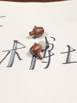 耳机入耳式耳机耳塞木头耳机木博士正品耳机有线耳机进口花梨木耳