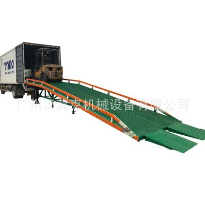 厂家直销HANMOKE汉莫克10吨移动机械集装箱登车桥 机械手摇升降