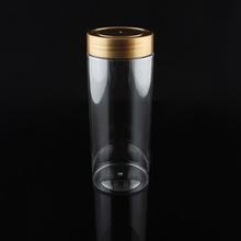 廠家直銷 pet塑料罐 堅果包裝罐 透明包裝瓶 食品塑料罐 塑料罐子