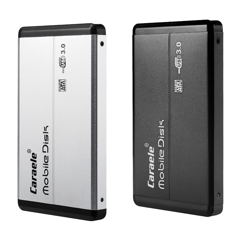 外置移动硬盘高速USB3.0 500GB 1TB 2TB Caraele品牌