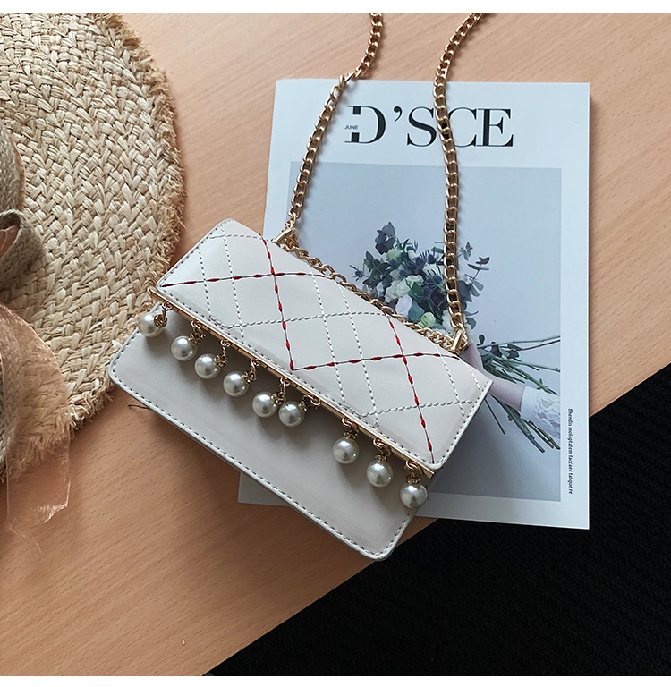 Summer Beads Sewing Chain Small Square Bag NHLD121202