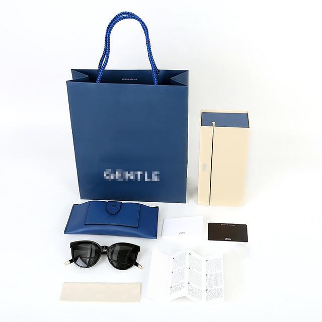 GM nhựa trắng v kính trường hợp kính da trường hợp túi mềm túi kính mát hộp set V thương hiệu tùy chỉnh Phụ kiện kính