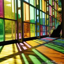 加工定制彩色玻璃  装饰玻璃  艺术玻璃雕刻