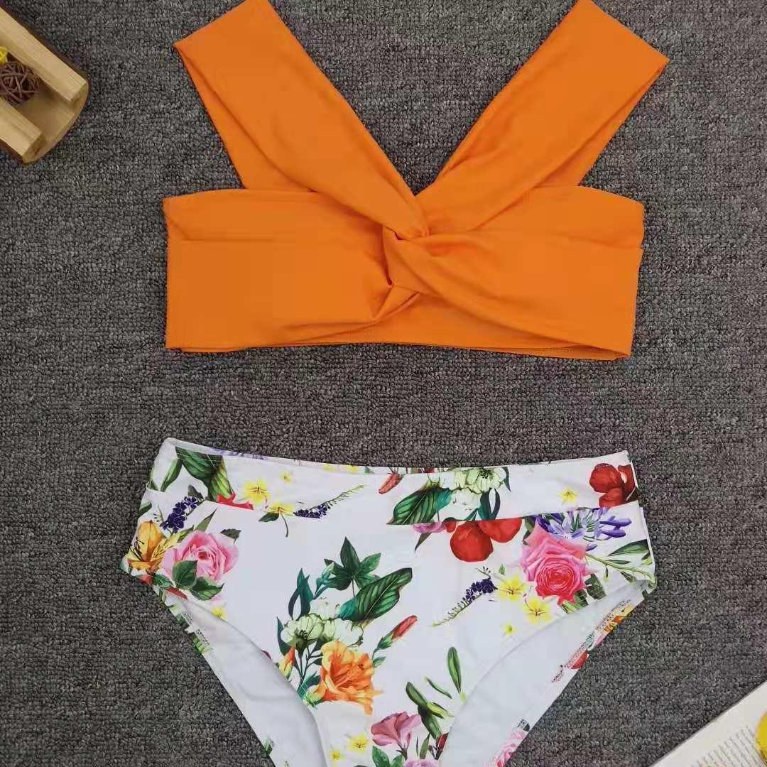 Bikini de nueva división de moda que cose bikini atractivo de las señoras NHNM198019