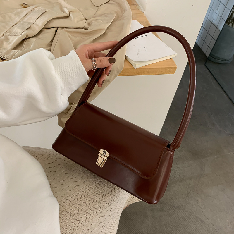 French Bag Underarm Bag Ladies Bag Fashion Handbag INS Shoulder Bag