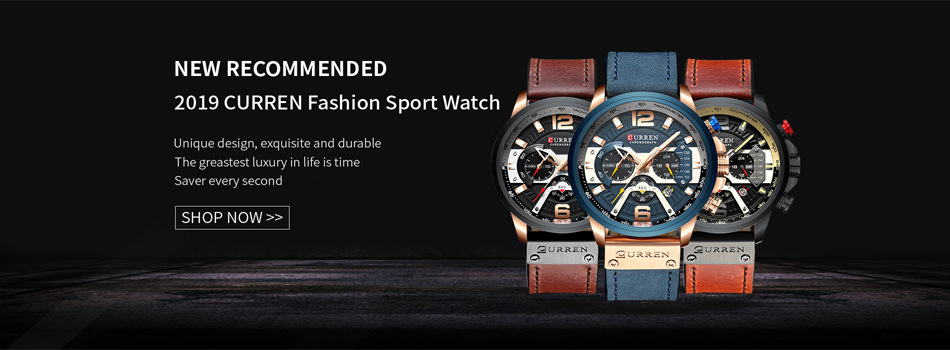 2016 Luxury Brand Men Sports Watches Men's Quartz Date Clock Fashion Casual Leather Strap Army Military Wrist Watch Male Relogio