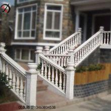 石雕阳台柱汉白玉别墅楼梯花瓶柱庭院装饰柱子围栏