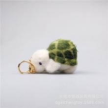 定制10厘米毛絨玩具烏龜掛件 毛絨烏龜鑰匙扣公仔 烏龜毛絨玩具