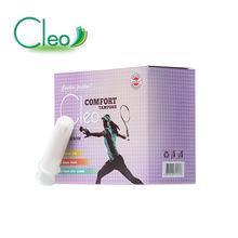 Cleo普通导管15支混装卫生棉条进口卫生棉条女导管式月经杯