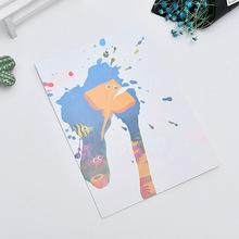厂家定纸水画纸儿童绘画玩具涂鸦画画趣味水画纸 益智环保水画纸