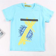 100-140夏季新款?#34892;?#31461;T恤上衣男童韩版柔软舒适专柜童装品牌批发