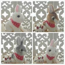 超萌可爱兔子毛绒玩具小白兔公仔仿真兔兔玩?#22841;?#21495;网红布娃娃女孩