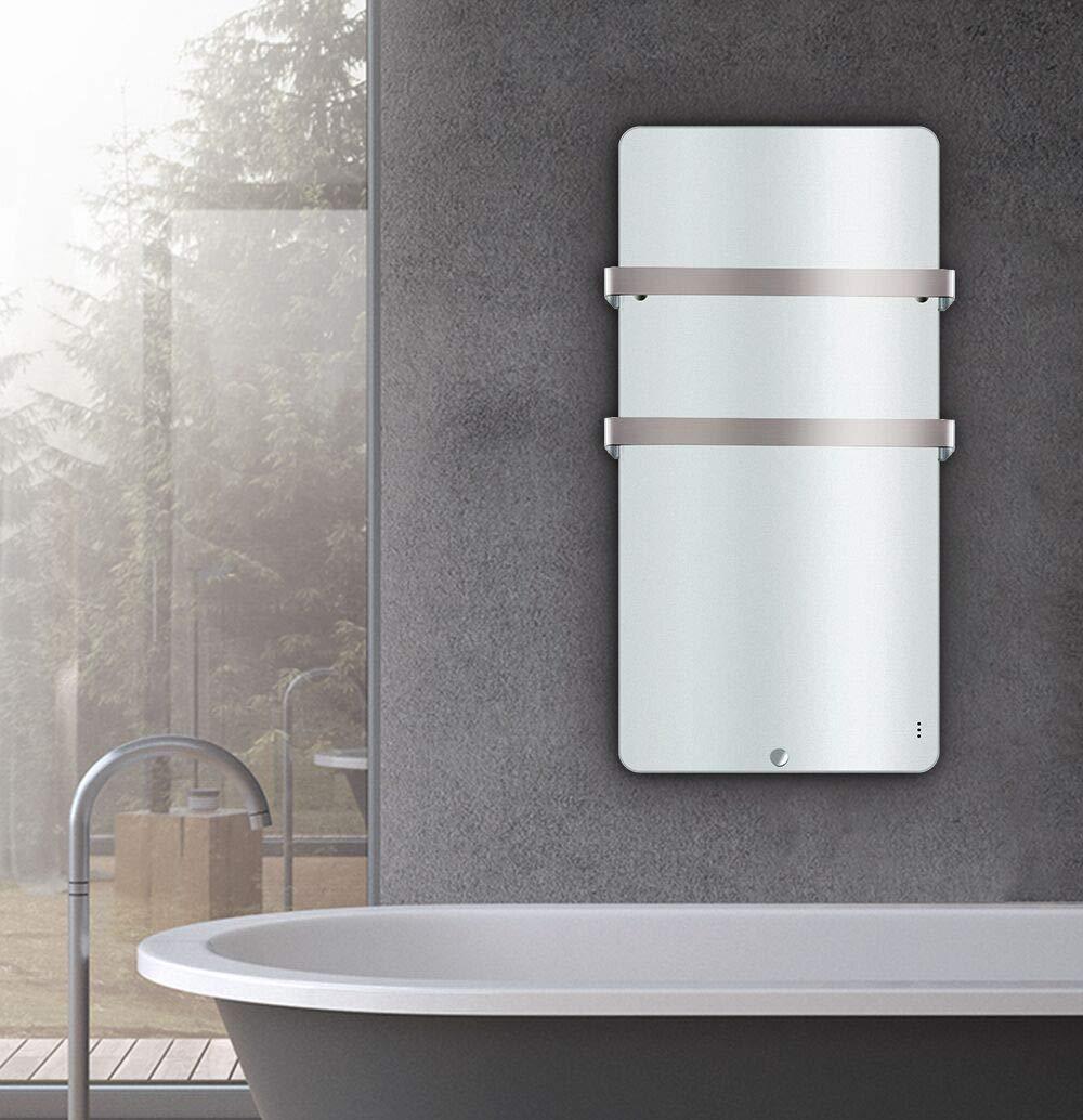 Electric Panel Heater Bathroom Radiator Infrared Heater Wall Mount 400w 600w Ebay