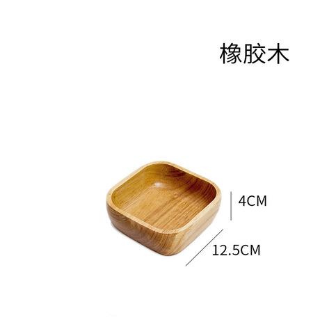 tấm cao su Thông tư khách sạn hình chữ nhật các bản ghi pallet gỗ gỗ nhà máy nướng bánh pizza đá quả đĩa tấm trực tiếp Món ăn