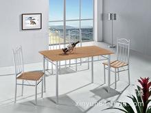 厂家直供外贸五金餐桌椅组合,?#21830;?#39184;桌椅,专业生产餐桌椅十四年