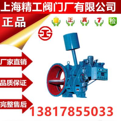 重锤型液控缓闭止回蝶阀 上海精工 HDHT47X/H球墨铸铁法兰蓄能器
