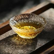 日本进口水野硝子功夫茶杯品茗杯玻璃茶杯小杯子茶盏主人杯茶具