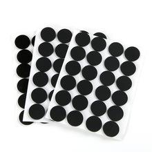 EVA自粘黑色防滑硅胶垫片 桌椅静音橡胶脚垫防震透明垫片加工定制