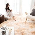 工厂北欧风长方形圆形地毯 ins风网红客厅地垫卧室满铺长毛绒扎染