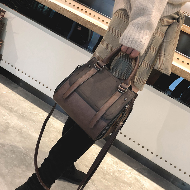 Book Bags Female, Fall 2019) New Women's Bags Korean Version Of The Wild Atmosphere Portable Fashion Mass Shoulder Bag