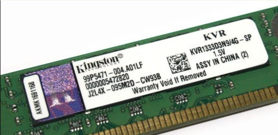Kingston/金士顿DDR3 适用于1600 4G台式机电脑 三代4gb内存条