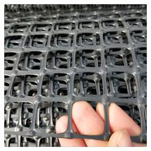 煤礦支護網 阻燃網  塑料土工雙向格柵 礦用防護網 假頂網