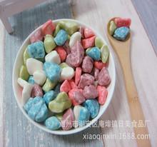 厂家直销优之唯品散装石头型牛奶味巧克力糖果 奇石糖儿童小零食