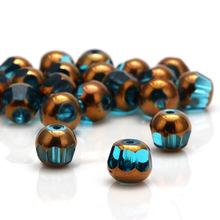 手串配件 水晶珠子圆形玻璃散珠珠隔片配件散珠 手链DIY饰品制作