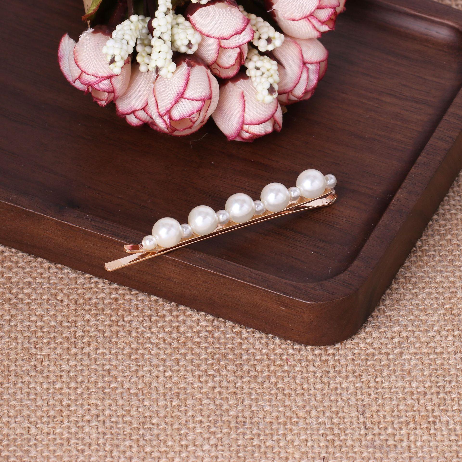 White Rabbit Love Geometry Beads Beads Accesorios para pelo de mujer JJ190505120236