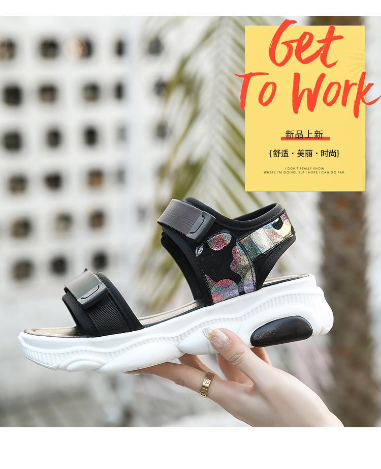 Chaussures été pour femme TIANLAI LAI en Caoutchouc - Ref 3346537 Image 8