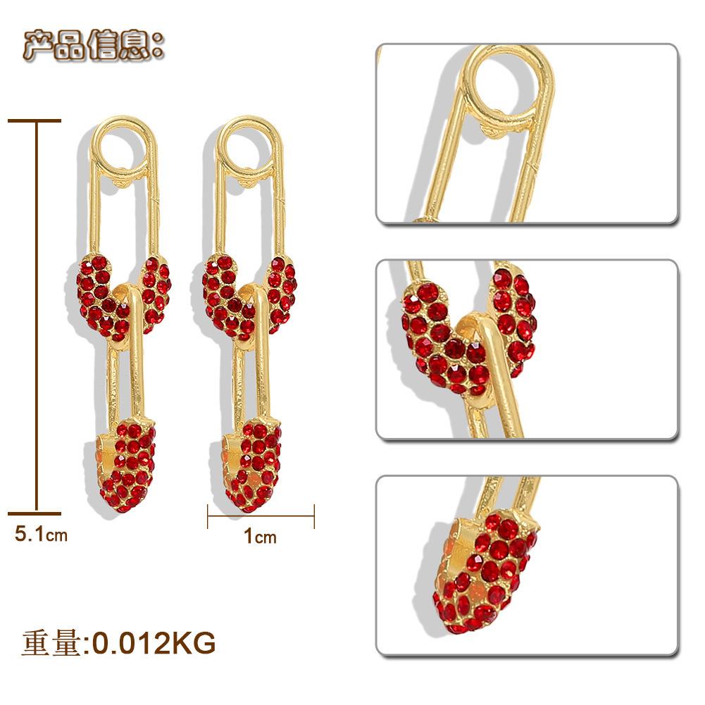 New Fashion Diamond Stud Earrings NHJQ149432