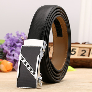ខ្សែក្រវ៉ាត់នារី Women Casual Leather Wild Double Sided Two Layer Cowhide Belt PZ701941