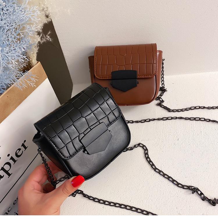 Simple Shoulder Bag Women's New Chain Messenger Bag Fashion Bag Wholesale NHXC200584