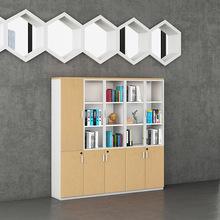 深圳家具厂定做档案柜子 批发板式办公书柜 办公?#26885;?#20214;柜资料柜