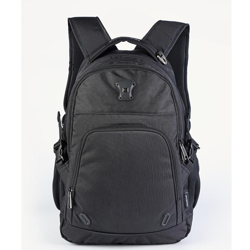 夏季大容量笔记本电脑双肩包休闲透气男士商务旅行背包学生书包