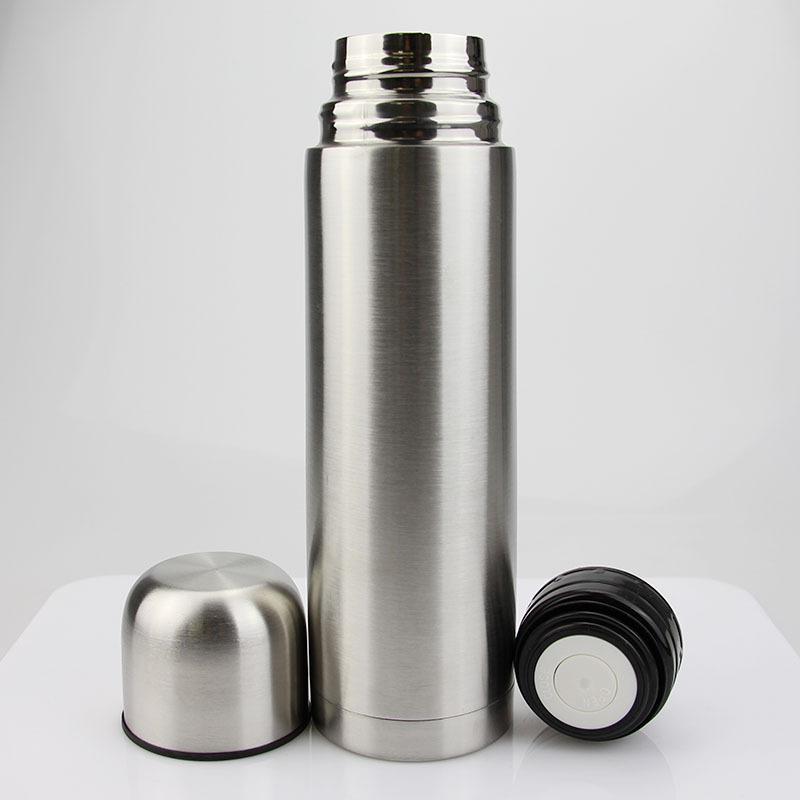 跨境户外不锈钢子弹头保温杯双层真空汽车礼品广告杯运动水杯定制