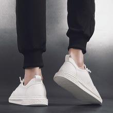 新款2019春男鞋冬季潮鞋英伦休闲鞋子男士板鞋韩版潮流小白鞋百搭