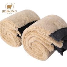 冬季羊羔绒保暖裤男女双层加绒加厚羊毛裤高腰中老年毛线打底棉裤