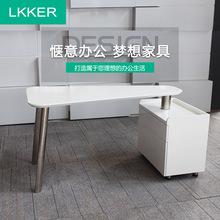 简约现代公司电脑桌主管经理办公桌家用写字台卧室创意书桌写字桌