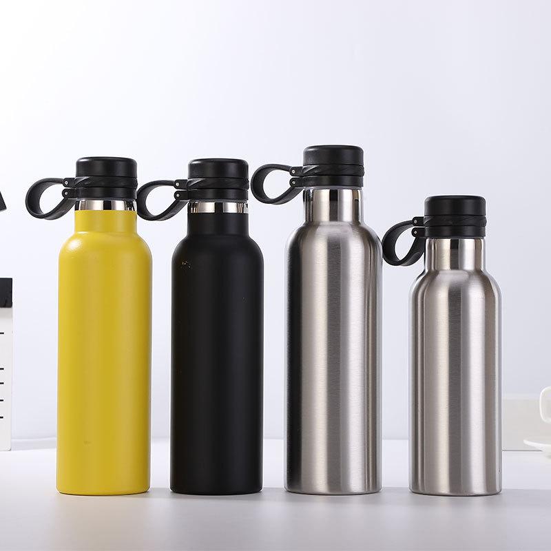 不锈钢保温杯304大容量可乐瓶随身携带运动登山水壶创意户外水杯