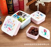 定制批发饭盒保鲜盒套装4件套3件套外贸塑料饭盒