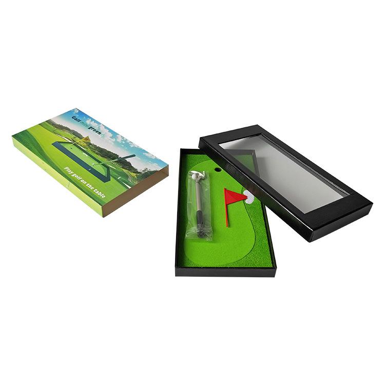 高尔夫礼品笔套装 广告促销纪念品 创意高尔夫文具套装笔