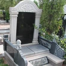 厂家定制现代欧式公墓陵园石墓碑 仿古石墓碑厂家定做 免费刻字