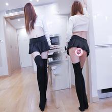 露脐弹力超短迷你性感百褶裙齐屁低腰日系学生JK短裙小裙子半身裙
